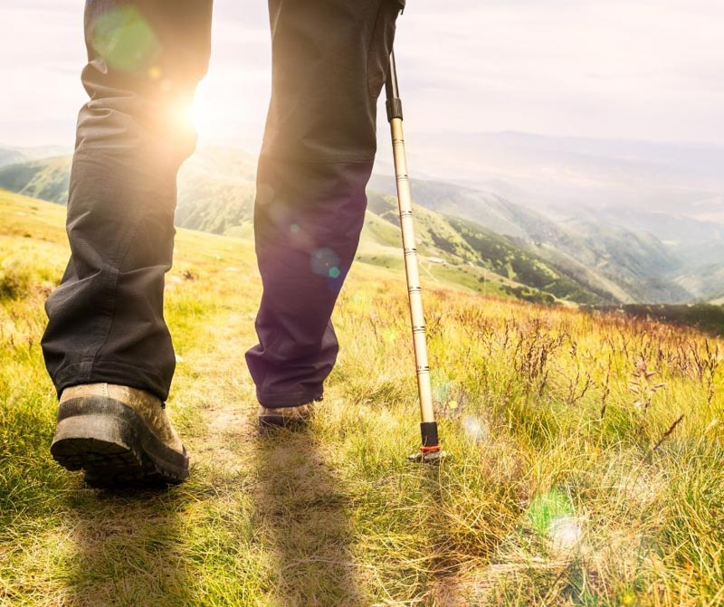 Backpacking workout plan for multi-day hikers.