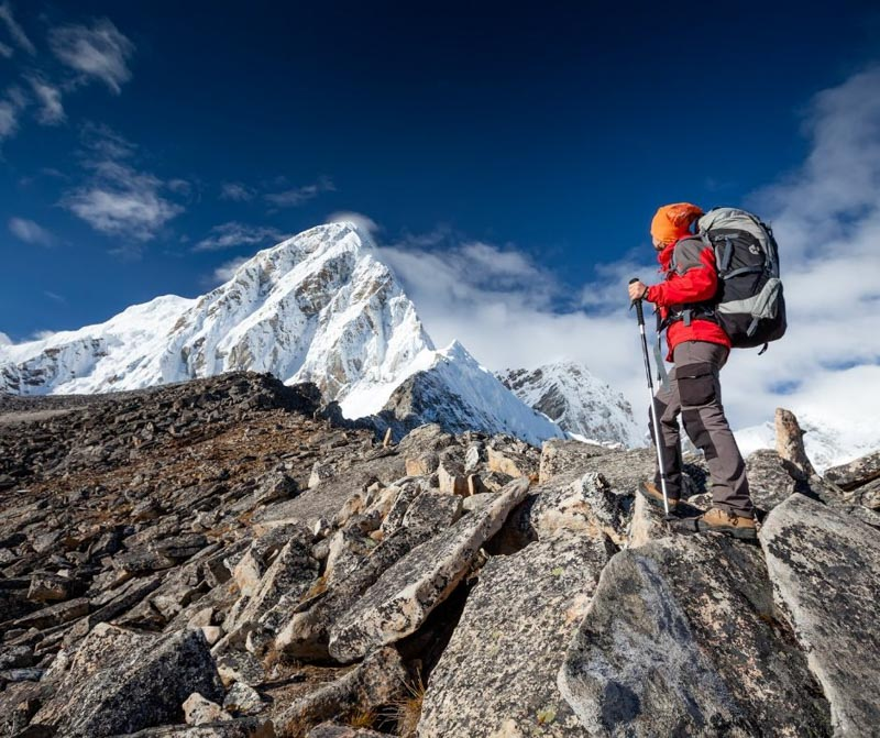 Your hiking training plan should include both strength training and cardio.