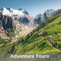 adventure tours including hiking and wildlife tours for active travellers