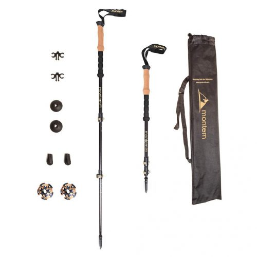 montem ultralight 3k hiking poles