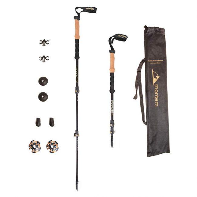 montem ultralight 3k hiking poles