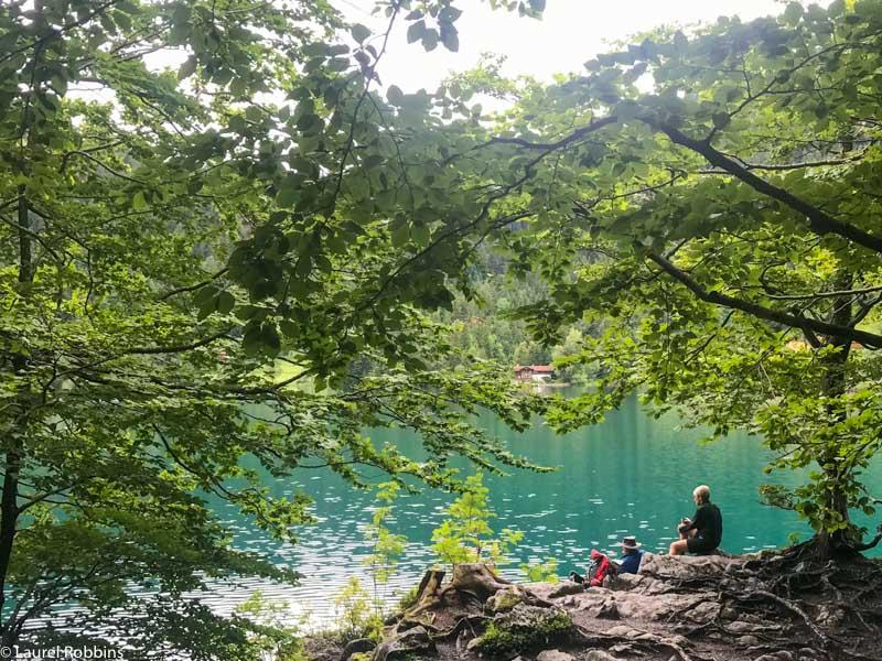HIntersteinsee is an hour walk from the village of Scheffau in Wilder Kaiser