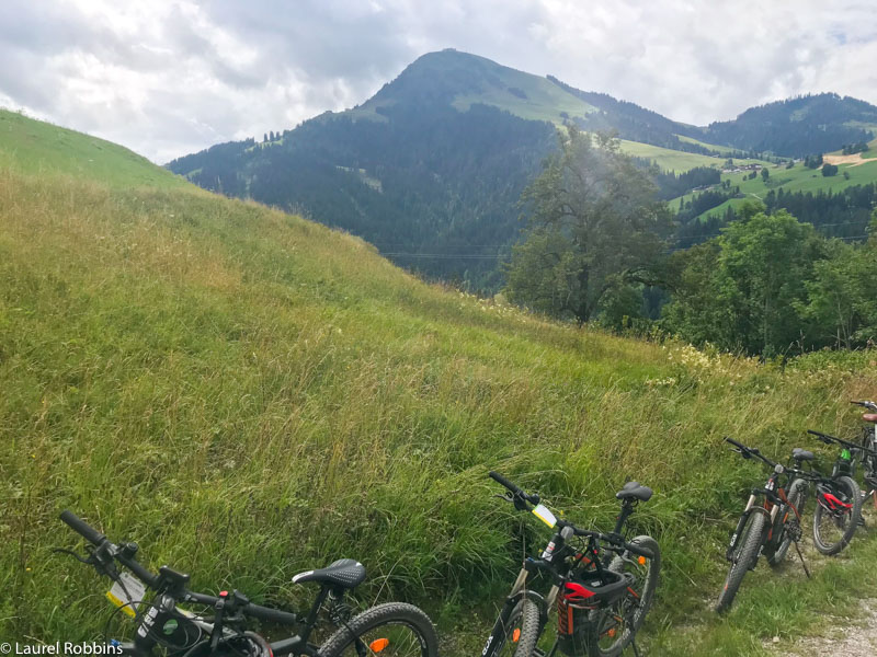 Wilder Kaiser is a great place for e-biking or mountain biking.
