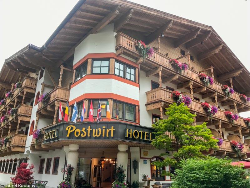 Postwirt Hotel in Söll makes an excellent base for exploring Wilder Kaiser.