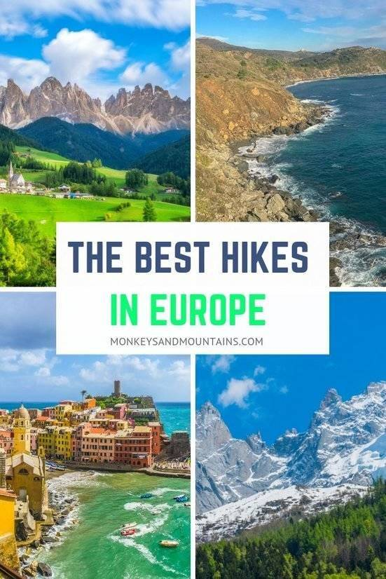 best hiking trails in Europe