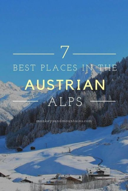 Pin 7 Best Places in the Austrian Alps