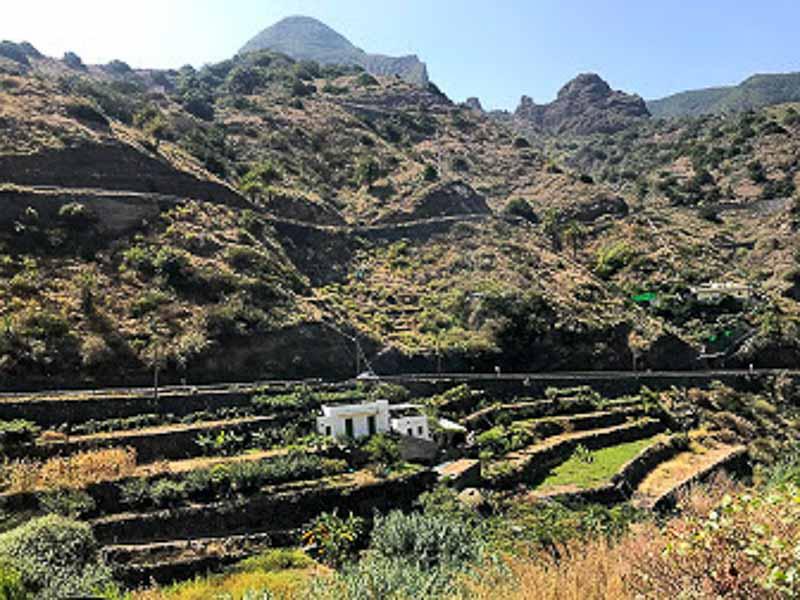 landscape in La Gomera