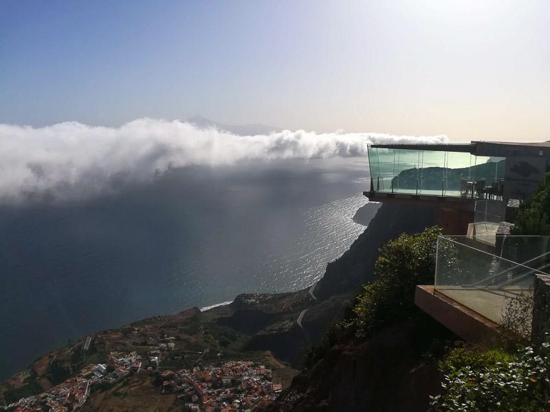 Mirador de Abrante offers great views over the Atlantic Ocean.