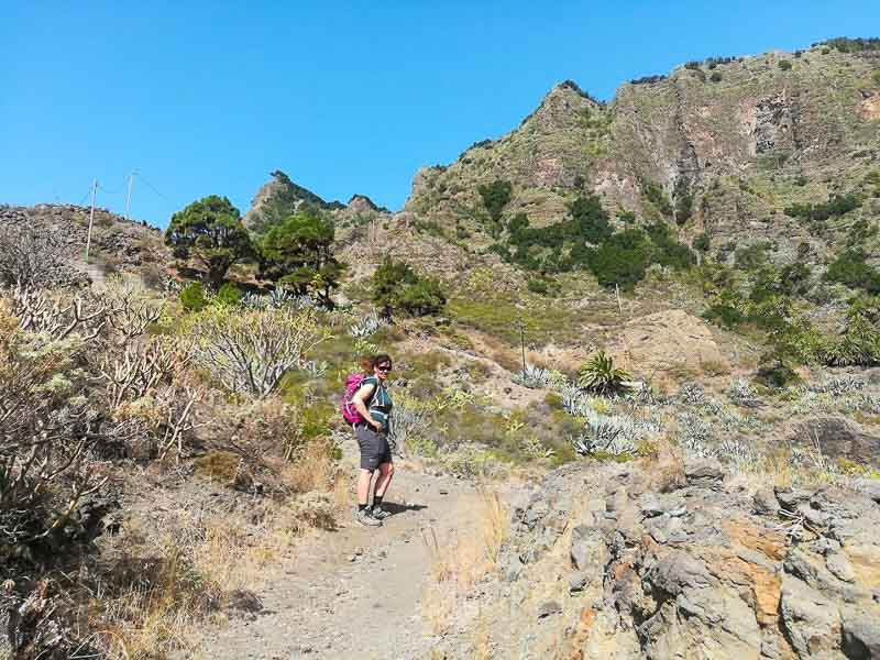 La Gomera offers hikers stunning landscapes