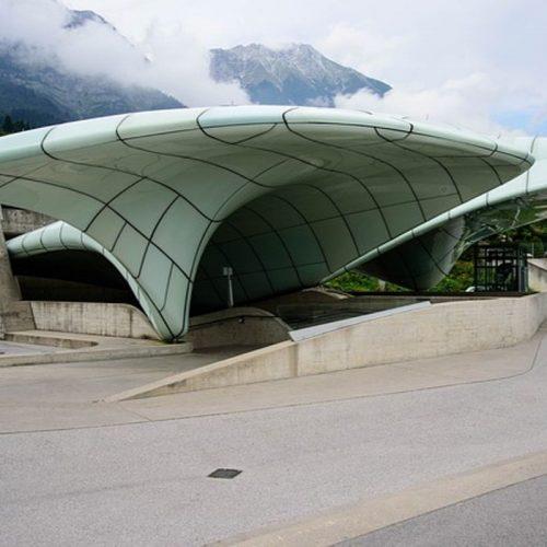 The Hungerburgbahn station