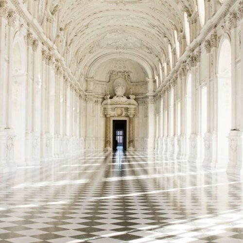 One of the halls of the Pallazo Reale in Turin