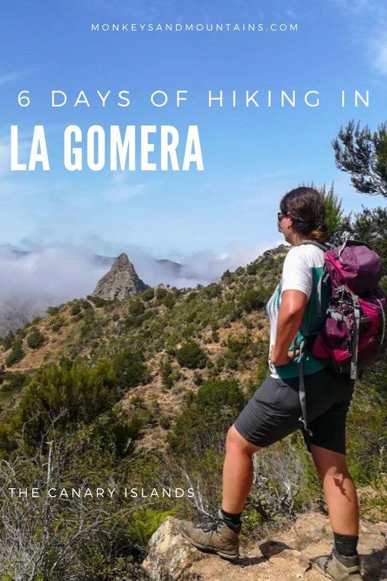 hiker inLa Gomera