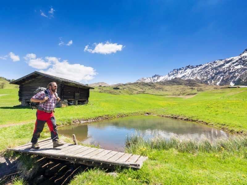 hiking in Alpe di Siiusi