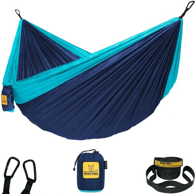 Hammocks are practical and comfortable and make a great gift for hikers.