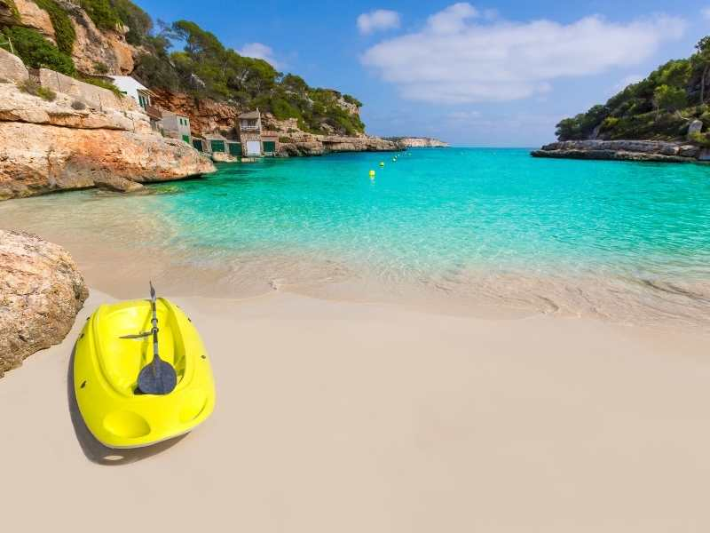Sea kayaking is a great activity. You'll pass by caves, beaches and more.