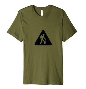 t-shirt for hikers