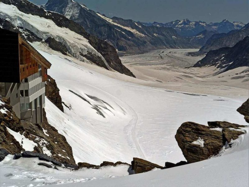 Grindelwald is a picturesque place offering some of the best skiing in Switzerland