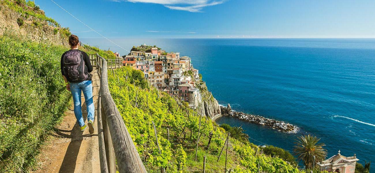 walking tour in Cinque Terre and Italian Riviera