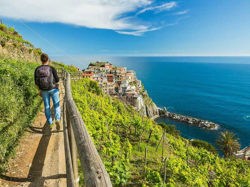 Cinque Terre in Italy is a great destination for beginner hikers