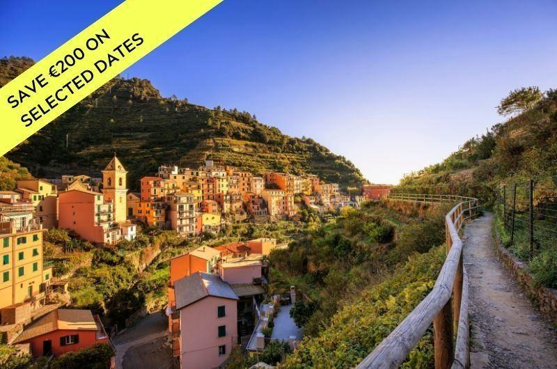 hiking in Cinque Terre and in the Italian Riviera
