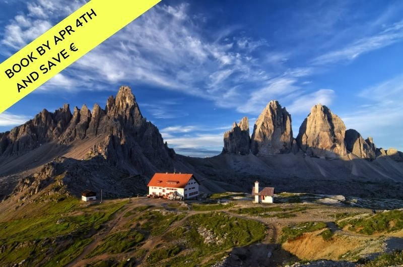 Dolomites Trek through a UNESCO World Heritage Site in northern Italy