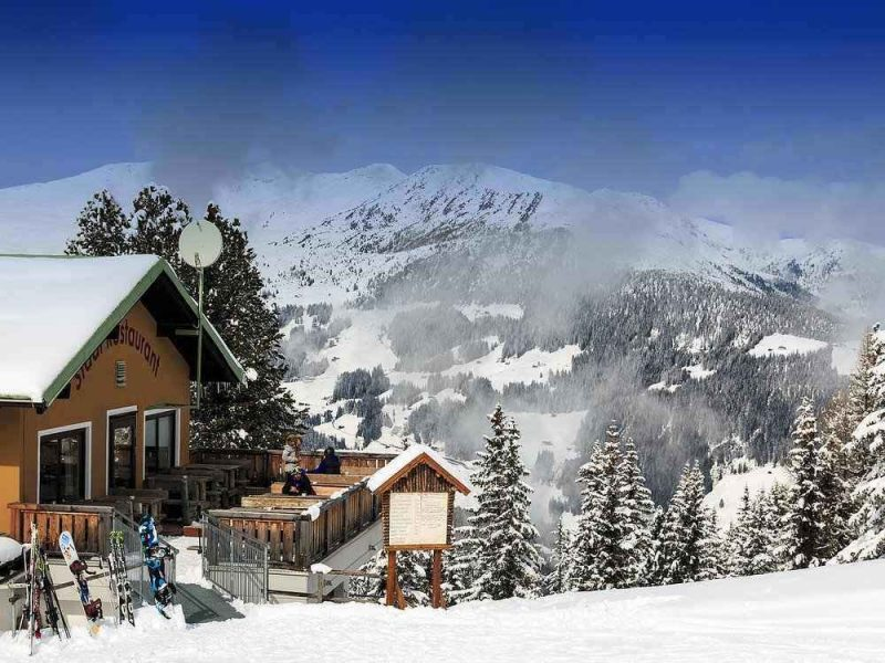 Myrhofen is the perfect resort for skiing in Austria