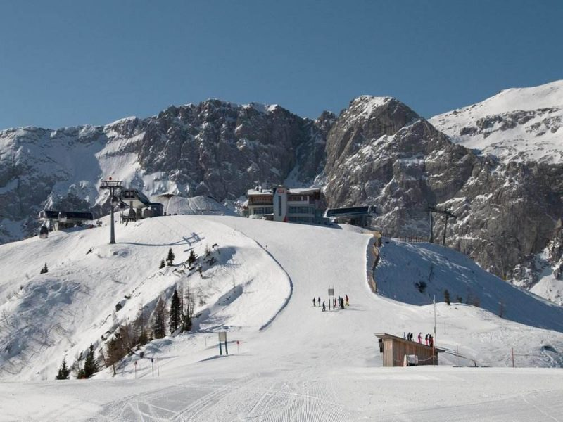 Nassfeld is one of the best ski resorts in Austria and offers great panoramic mountain views