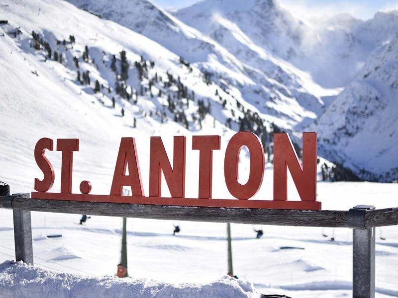 St. Anton is one of the best places to go skiing in Austria