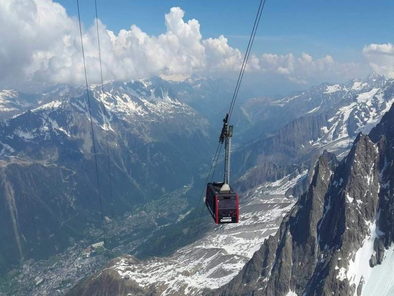 Chamonix offers some of the best advanced skiing in France