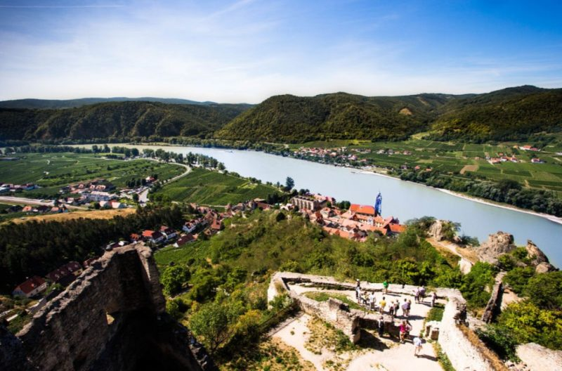 Explore the Danube and the many varieties of wine on offer in the Wachau Valley