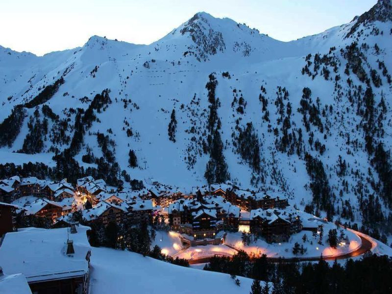 Les Arcs is one of the best ski resorts in France