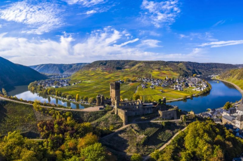 The Moselle Valley is a great place to enjoy a wine tour in Germany