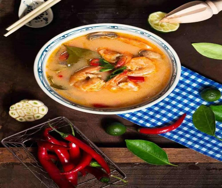 Tom Yum soup is a great soup of the world