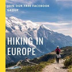 guide to trekking and hiking in Europe