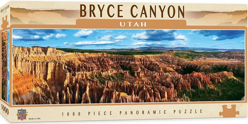 Bryce Canyon is one of the best nature puzzles to do. This is a great national parks puzzle to keep you occupied.