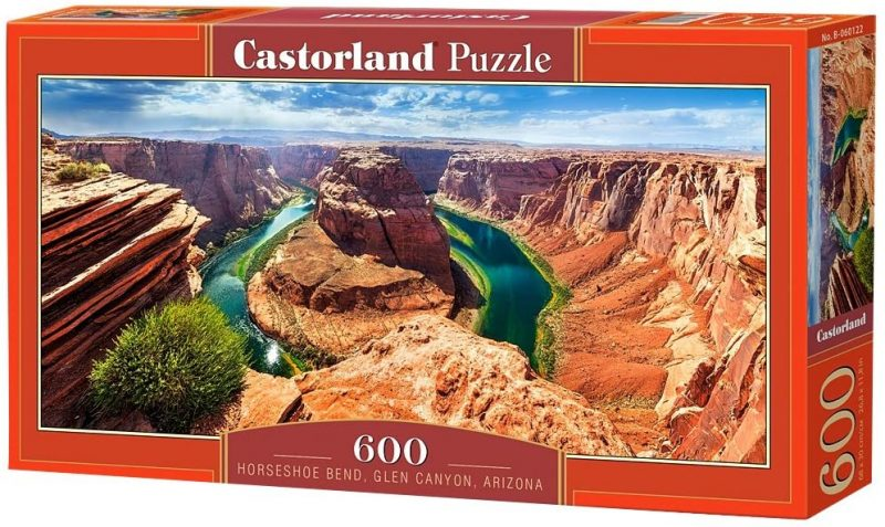 Horshoe Bend in Arizona is a must-see when visiting Americas National Parks and a great nature puzzle to assemble.