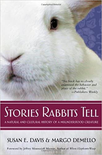 This book about rabbits is a fascinating read and one of my favourite wildlife books.