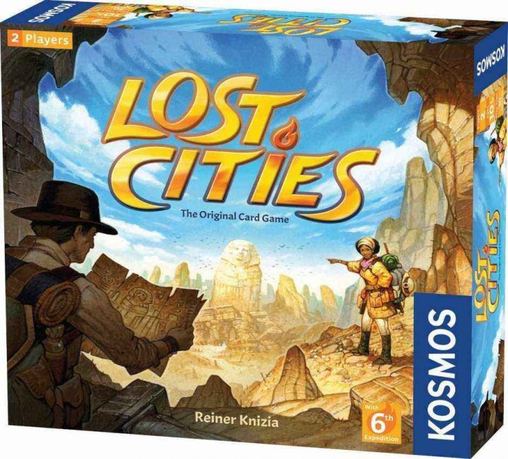 Lost cities is the best way to bring out the adventurer in you. I always love this game since it makes me feel like Indiana Jones, in the game of course.