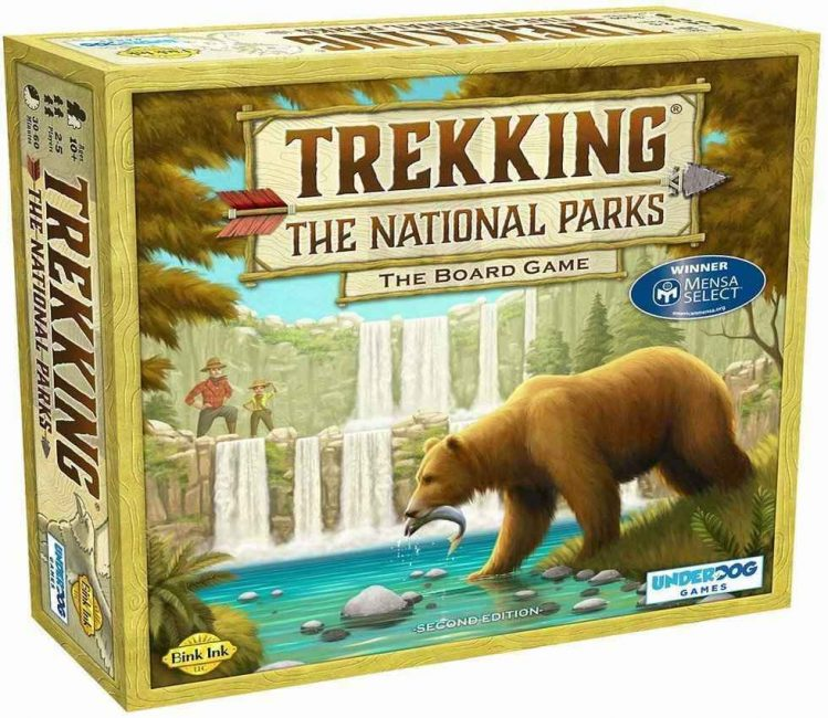 This travel board game is just what you need if you love the outdoors. What more could you ask for than exploring your favourite national parks from home.