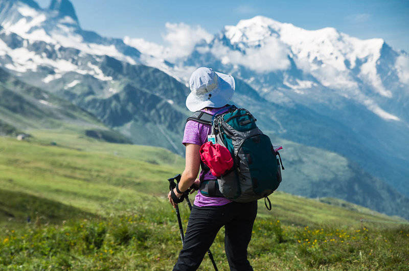 hiking and trekking tours in Europe, U.S. and Canada