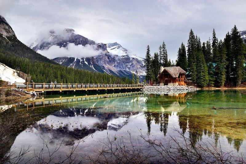 Emerald Lake Lodge offers wonderful views and great access to a lot of things to do in Yoho National Park