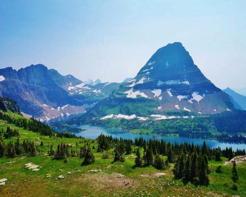 Logans Park is one of the best areas to view Glacier National Park. When you visit make sure to take a scenic drive here