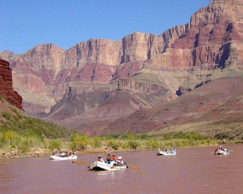 The Grand Canyon is the perfect place to experience adventure rafting