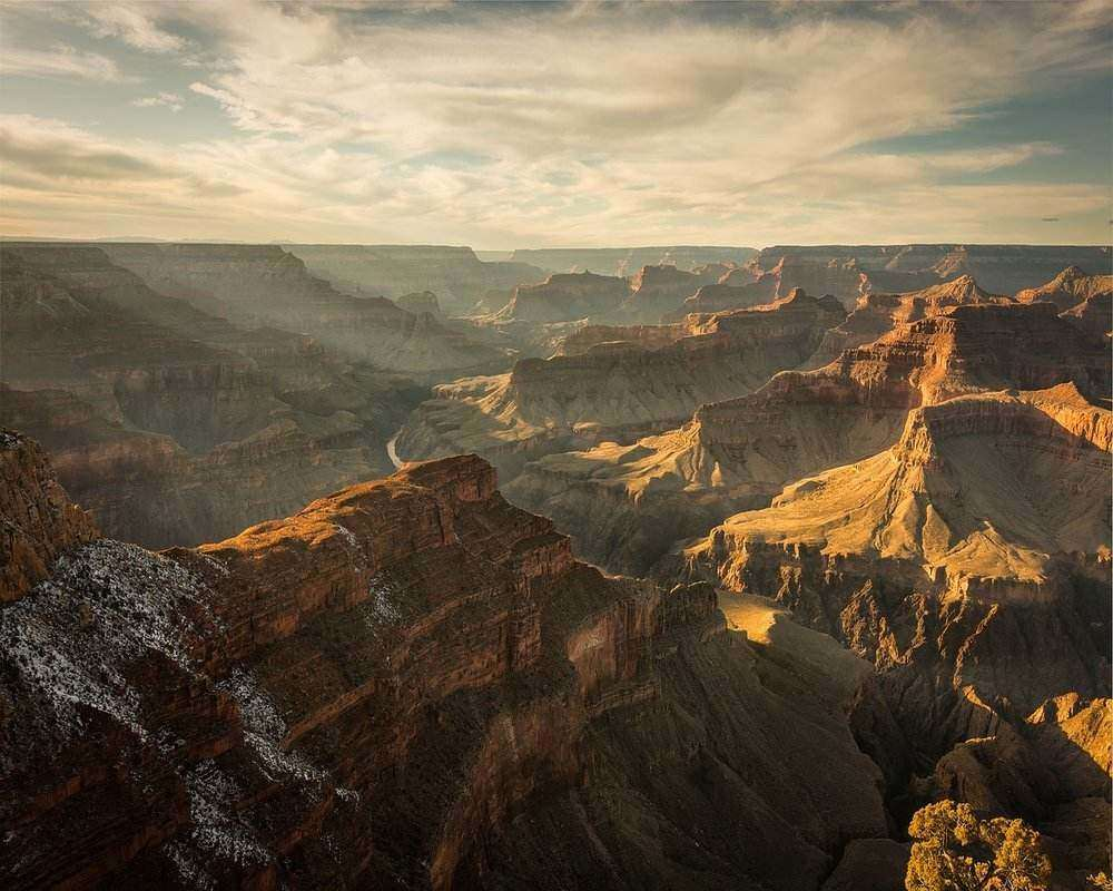 The Grand Canyon National Park is one of the best places to go touring in America