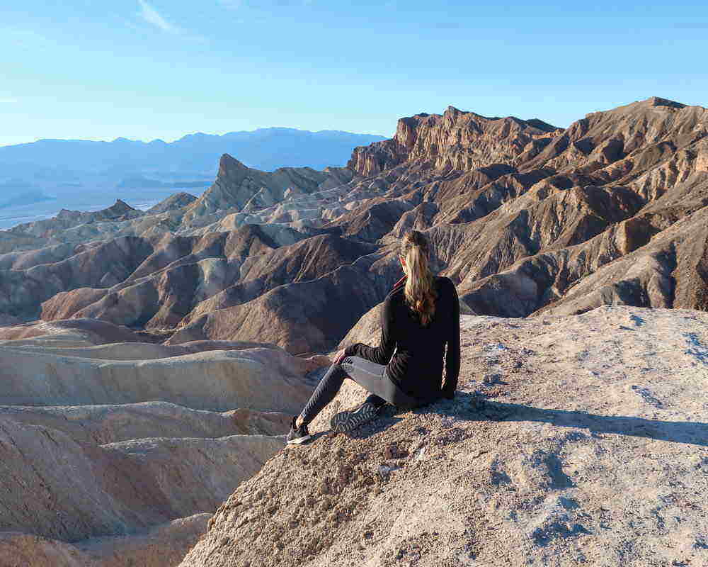 Death Valley is one of the best places to hike near Las Vegas