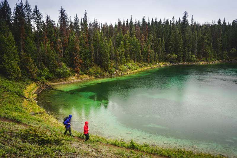 You won't find more beautiful lakes than those in the Jasper National Park. The lakes are a must-see attraction