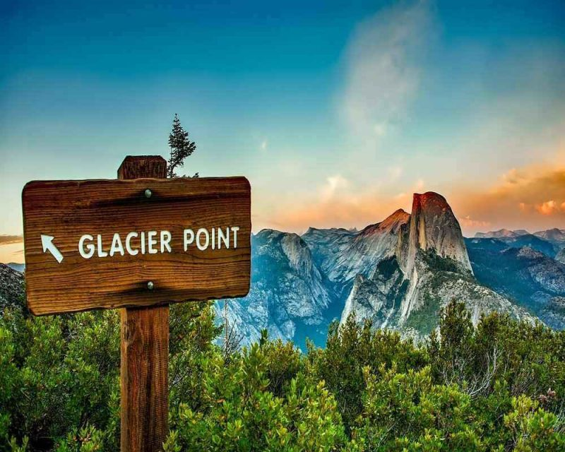 Glacier Point in Yosemite National Park offers one of the best viewpoints in the park