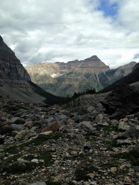 Landscapes in the Canadian Rockies