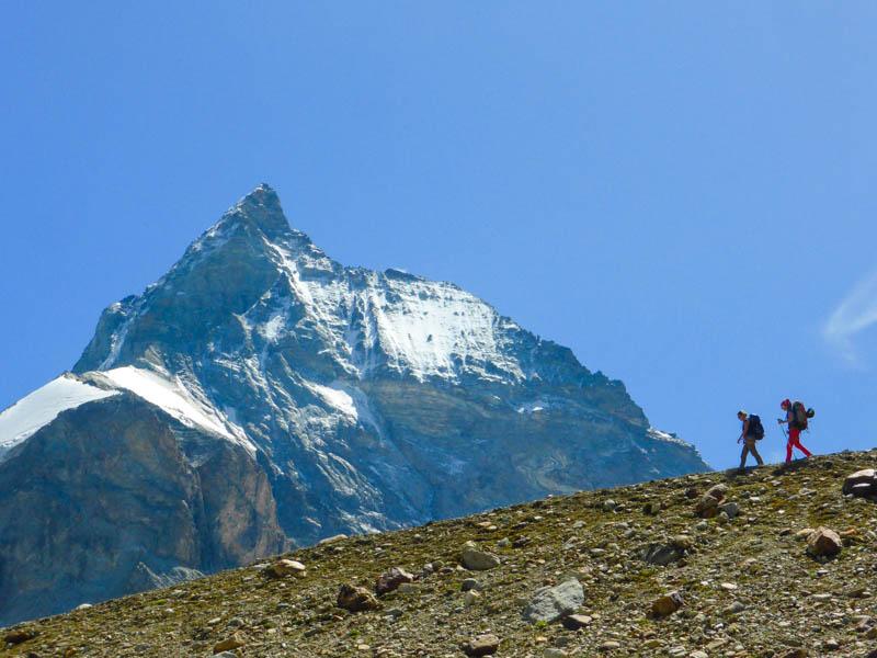 Hiking Chamonix to Zermatt