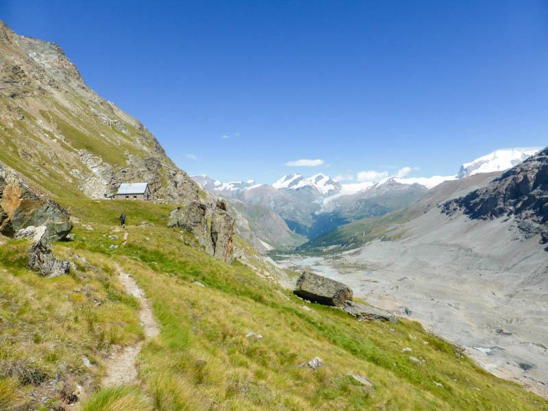 Hiking the Haute Route from Chamonix to Zermatt